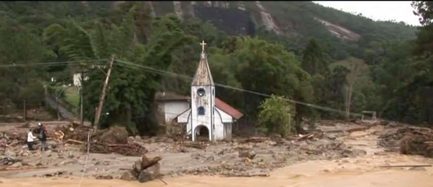 Church Destroyed