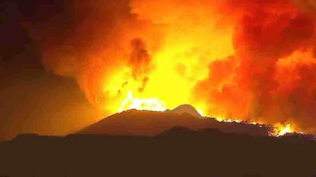 Fire on Mountain