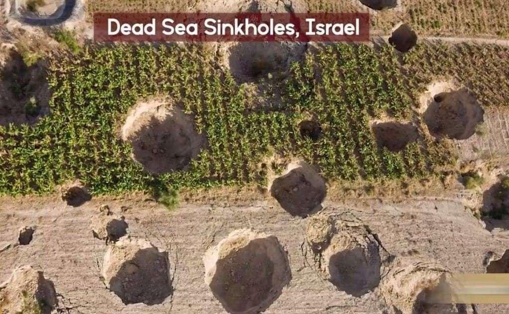 Israel Sinkholes