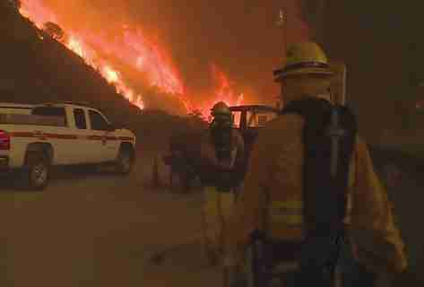 Masive Fires Raging in California July 2016
