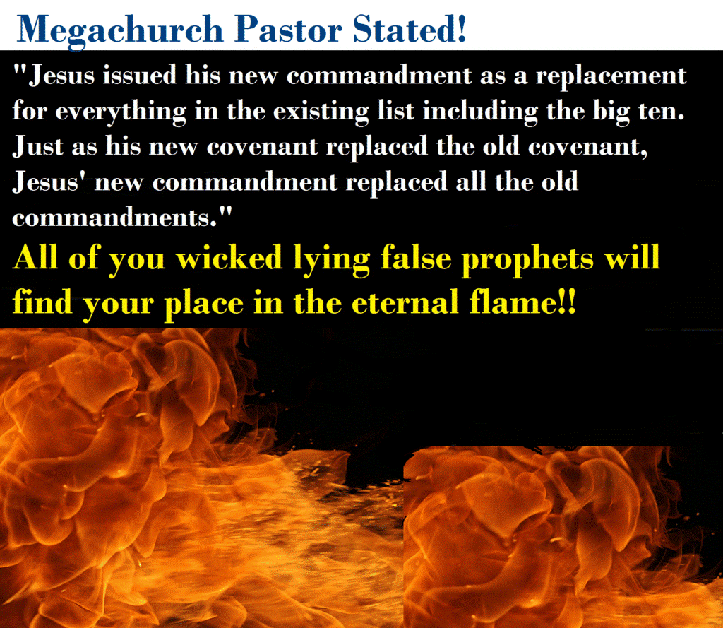 Megachurch Pastor Said