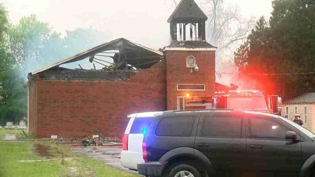 Mt Pleasant Church Fire
