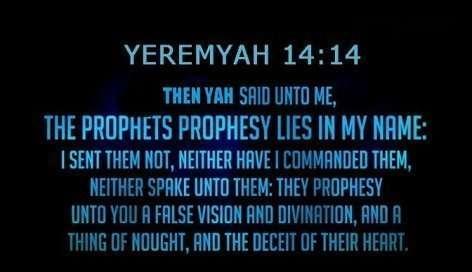 A Yeremyah 14 14