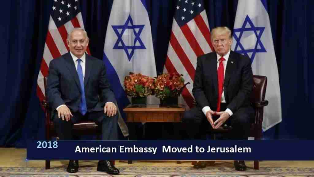American Rmbassy Moved to Jewrusalem
