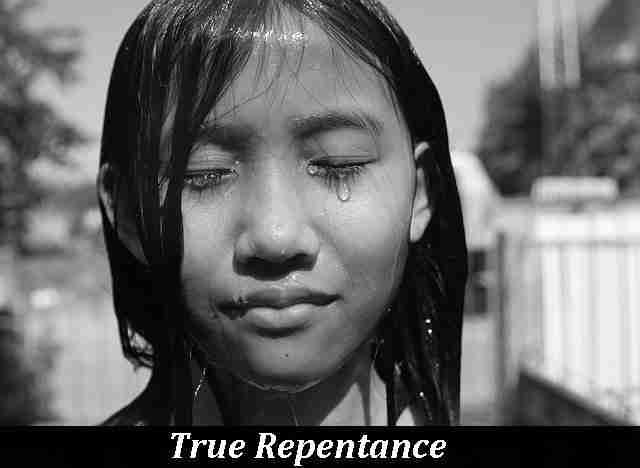 Asian True Repentance