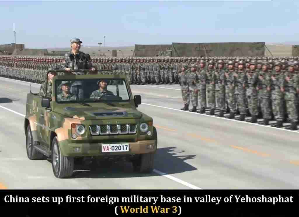 China in Valley of Yehoshaphat 1