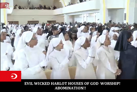 Harlot Houses of God Worship 3
