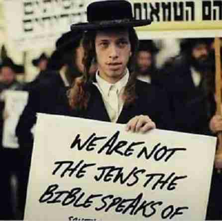 Jews are not the Hebrews
