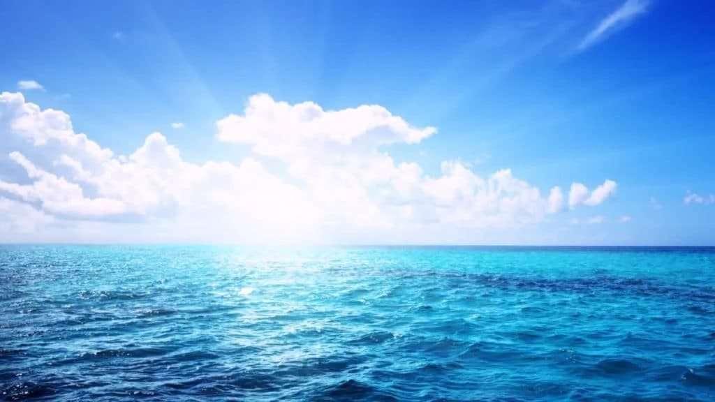 Light Over Ocean