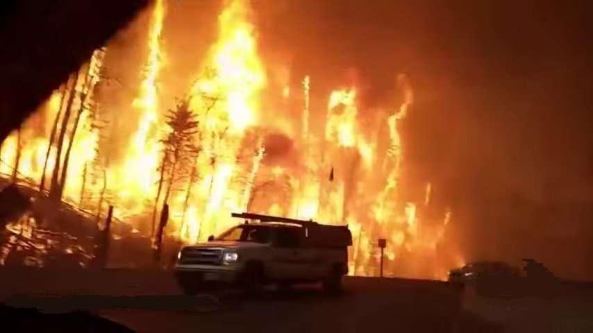 Masive Fires Alberta Canada