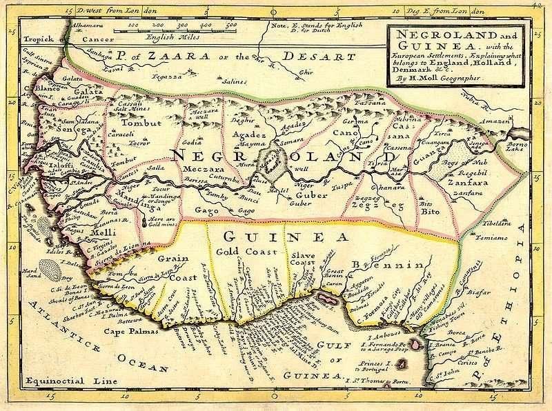Negroland Africa