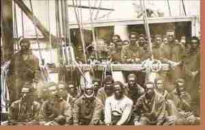 Transatlantic Slave Trade Cargo Ship