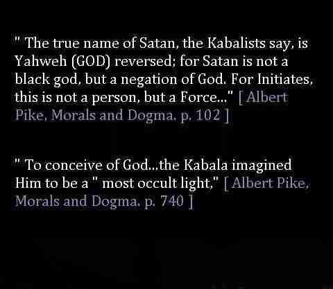 Yahweh True Name of Satan
