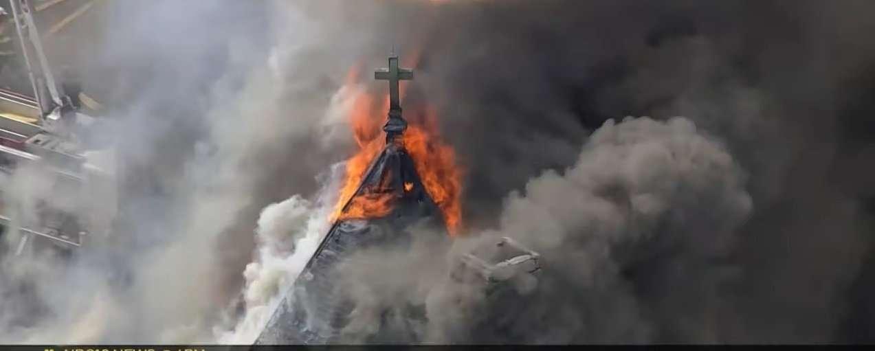 Burning Cross Phili Church