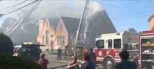 Sheraden United Methodist Church Fire