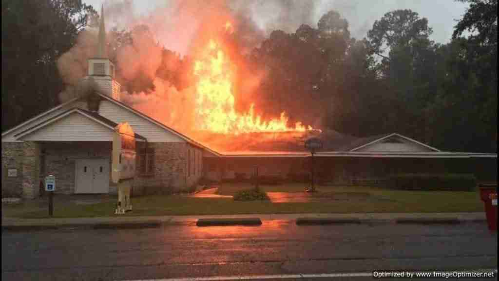 T Lighting Strike Sets Church on Fire 1024x576 Optimized