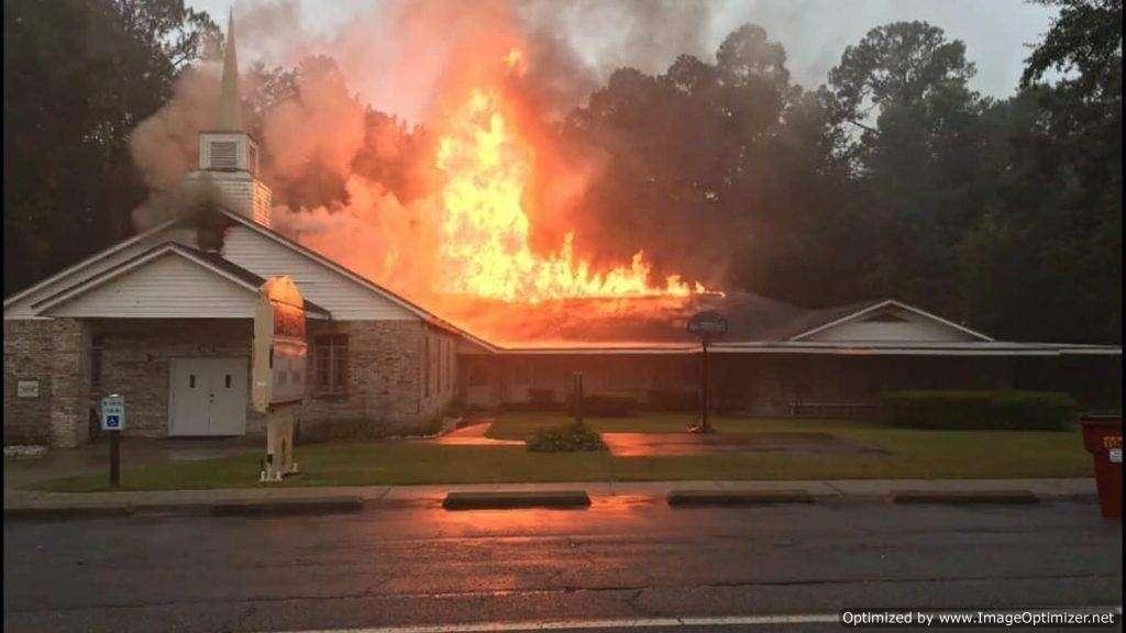 T Lighting Strike Sets Church on Fire 1024x576 Optimized