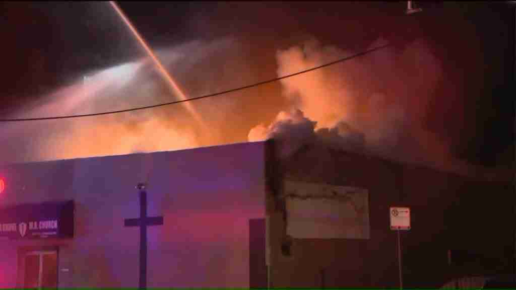 2 Cedar Grove Church fire3 1