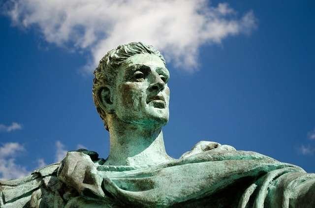 Constantine sculpture