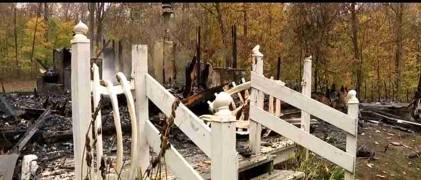 Elliysville Pastor Home Catch Fire
