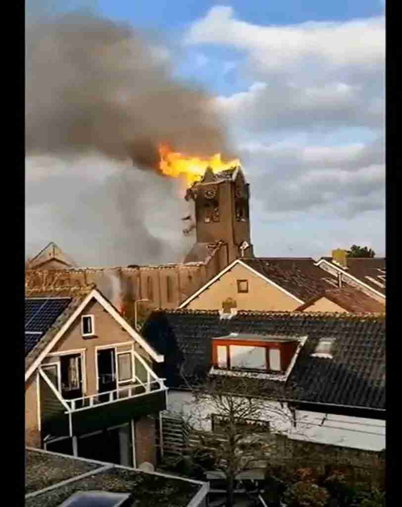 Netherlands Church Fire 2
