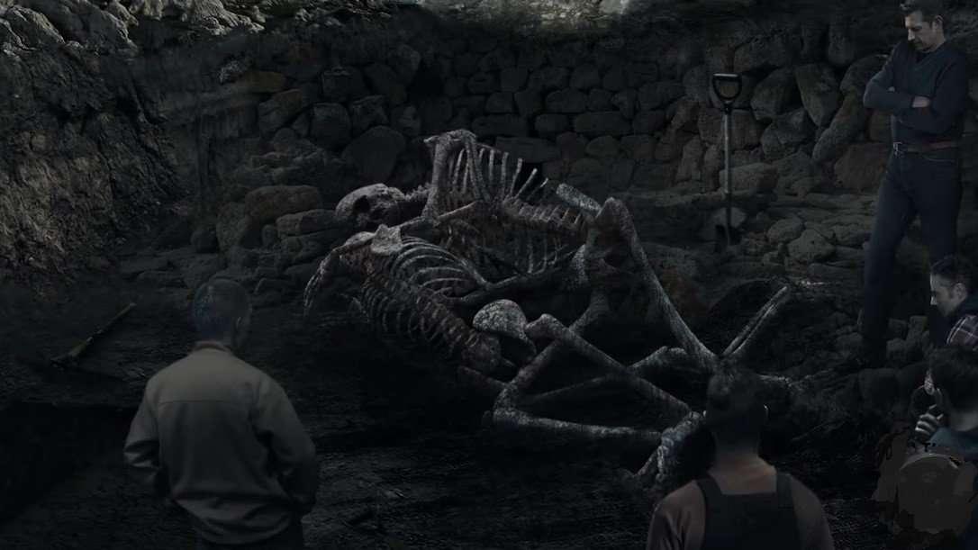 2 Giant Skeletens