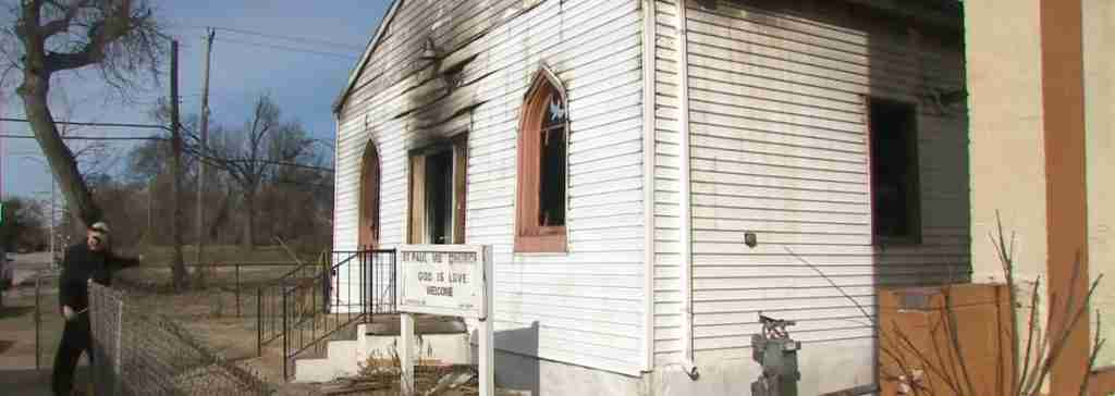 3 St Louis Church Fire