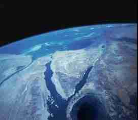 Entrance to Inner Earth From Space