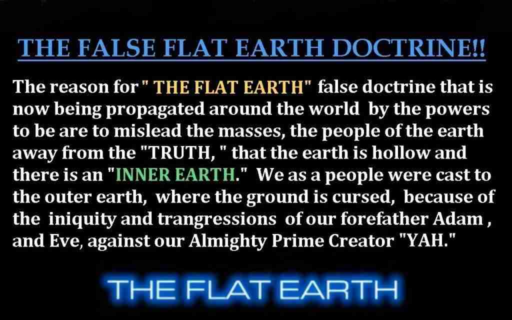 Flat Earth Doctrine