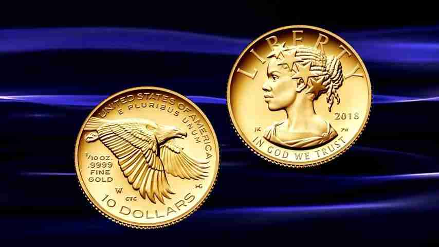 Gold Liberty 10