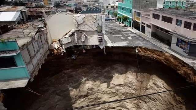 Guatamala Sink Hole