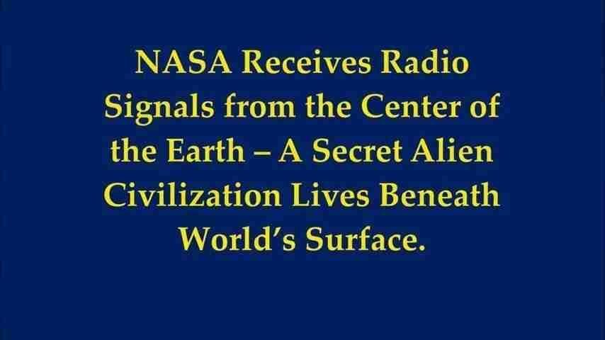 NASA Receives Radio Signals1