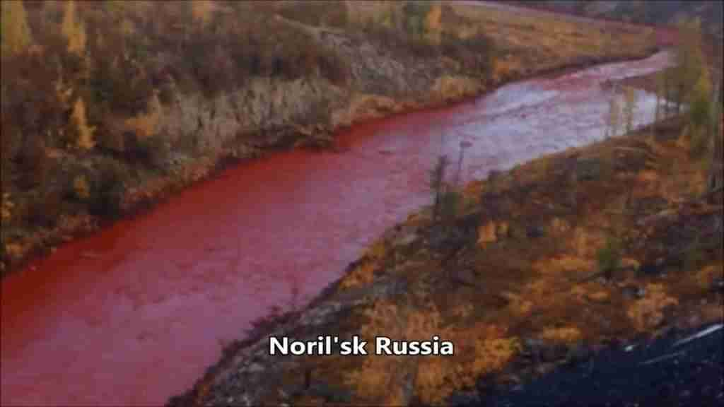 Norels Russia Blood River