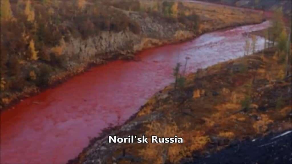 Norels Russia Blood River