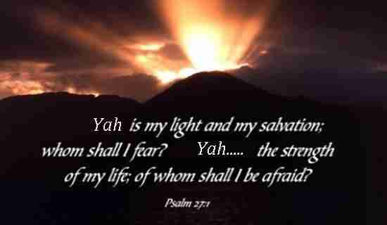 Yah is My Light