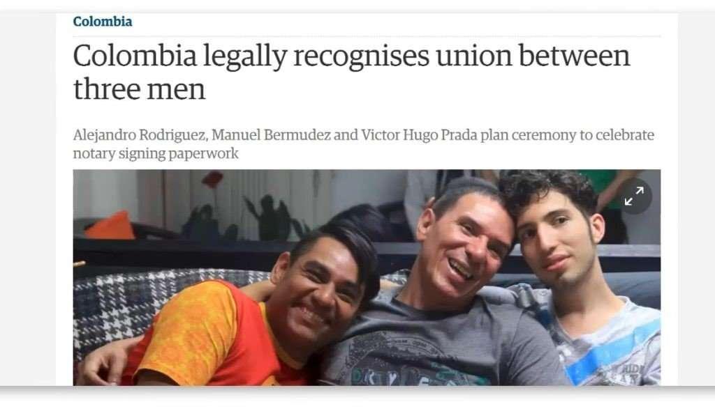 Columbia 3 Men Union