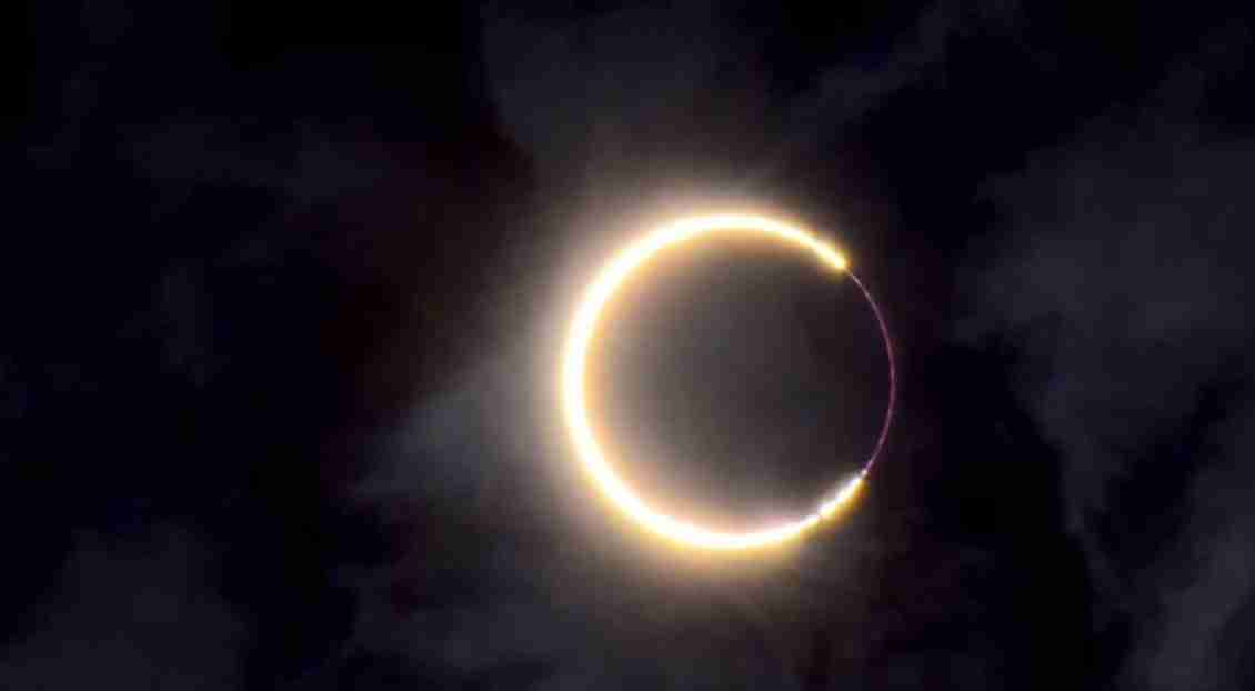 Fire Ring Eclipse
