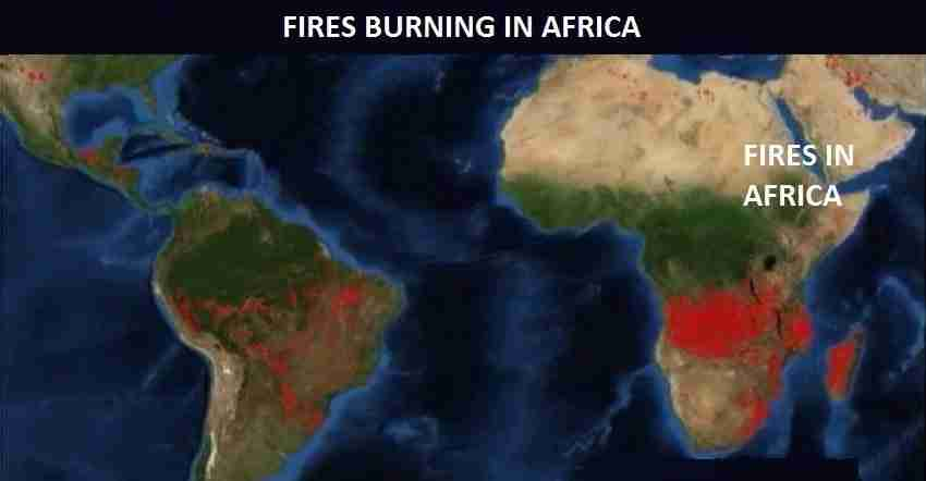 Fires In Africa