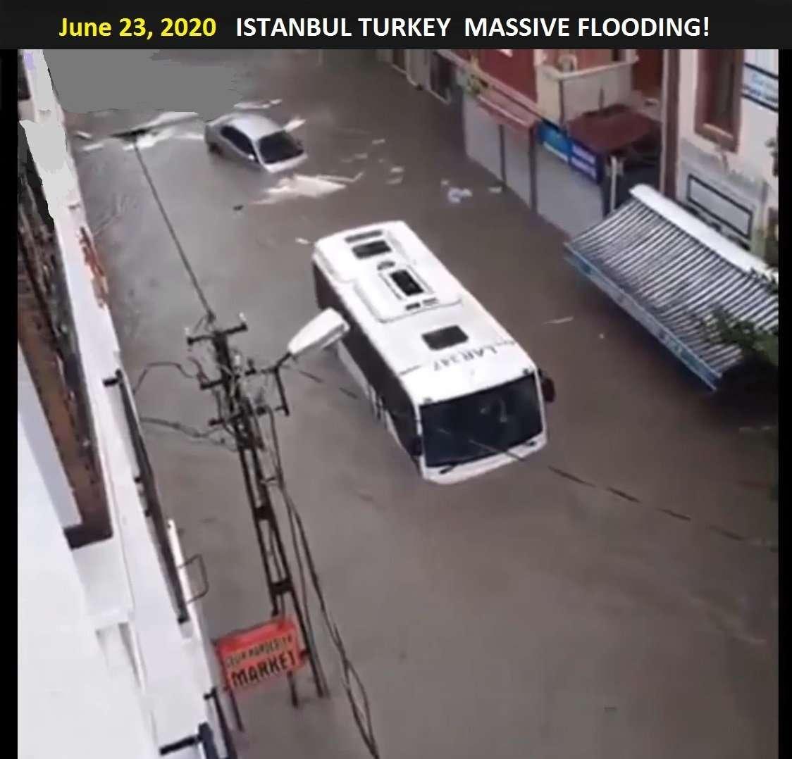 Istanbul Turkey Flooding2