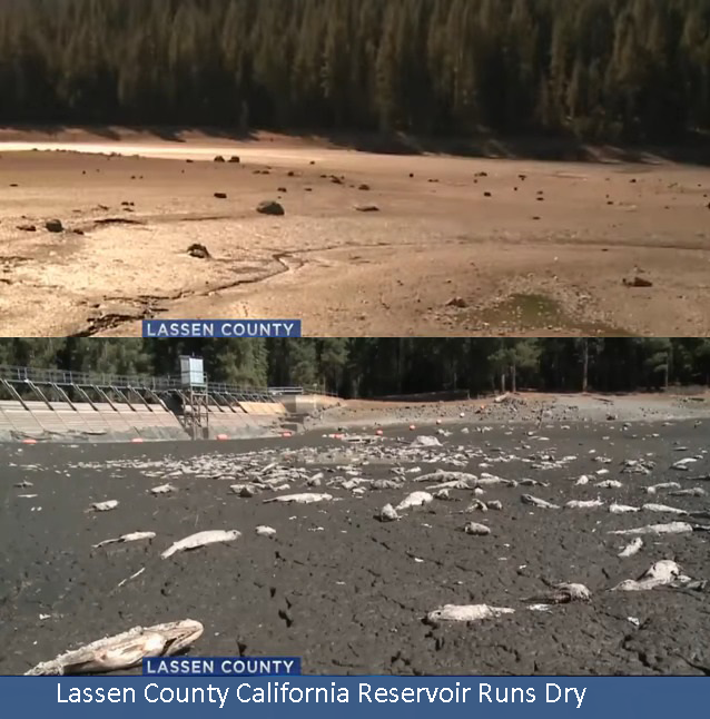 Lassen County Calif Dries Up