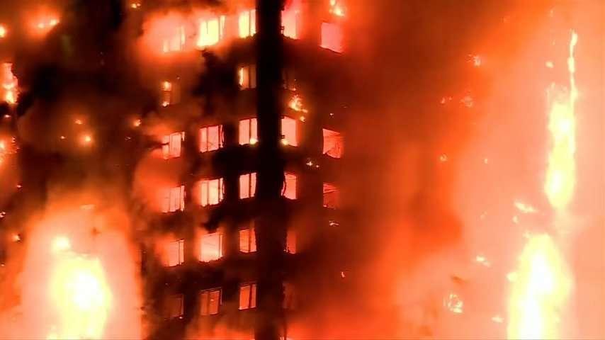 Londons Hidh Rise Fire1
