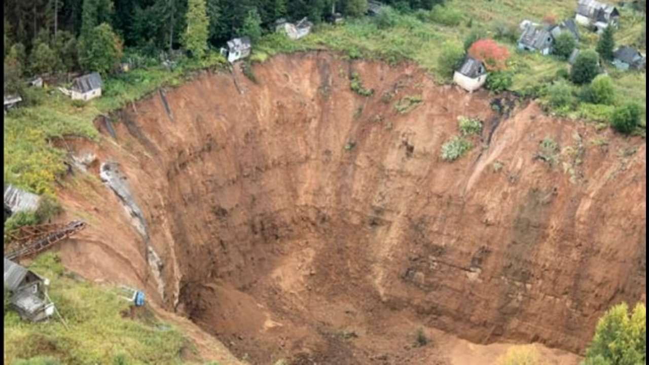 Siberia Sink Hole