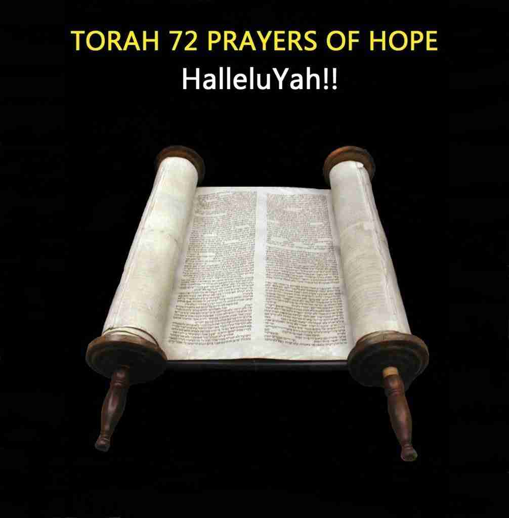 Torah 72 Prayers of Hope