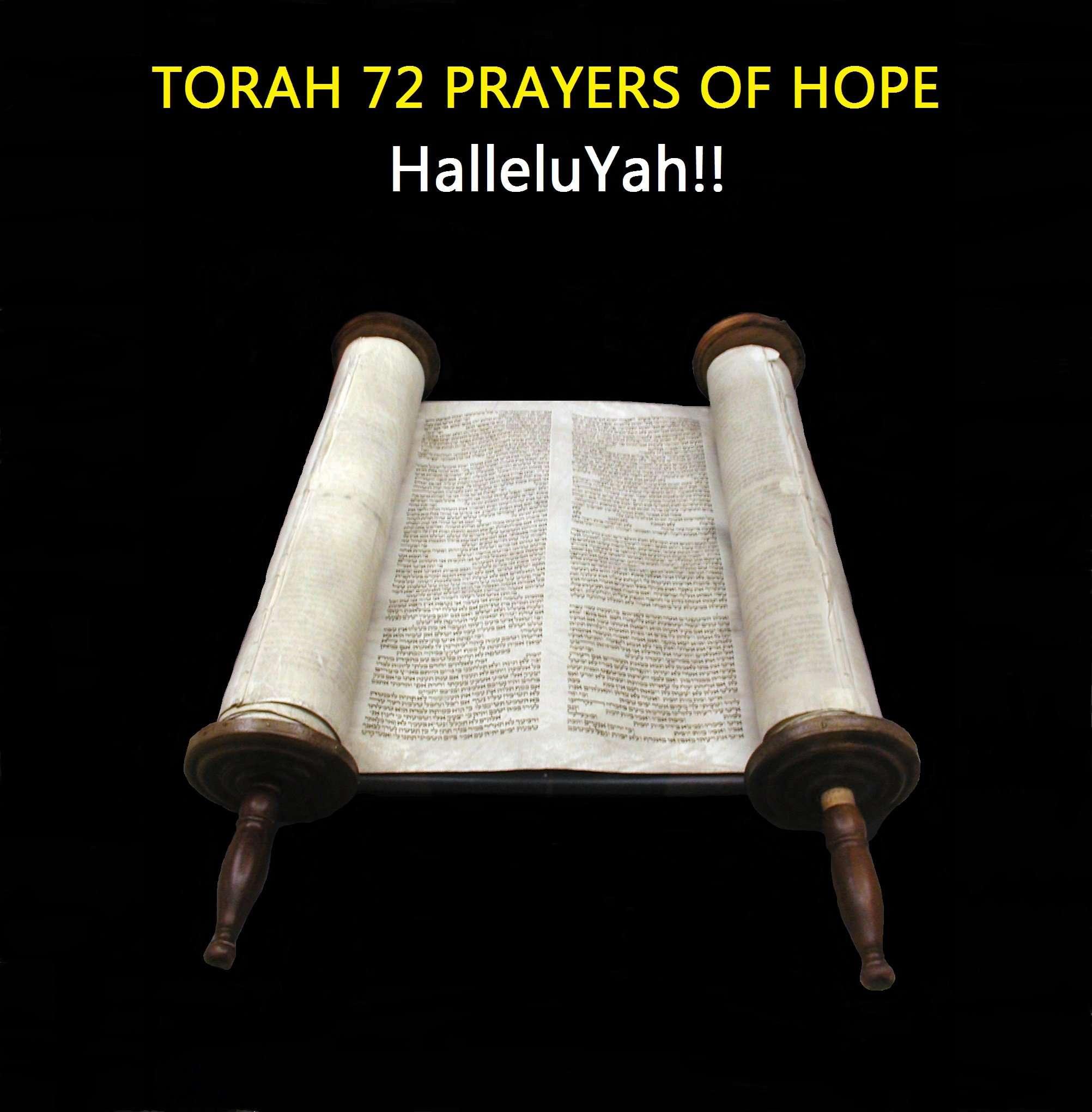 Inspiring Torah 72 Prayers of Hope