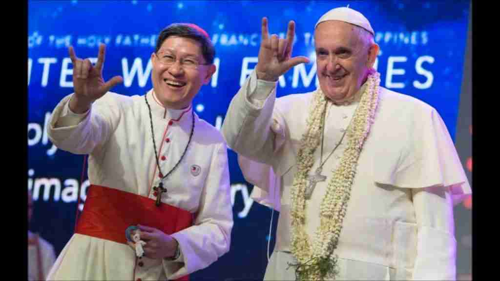 Pope Hand Signs