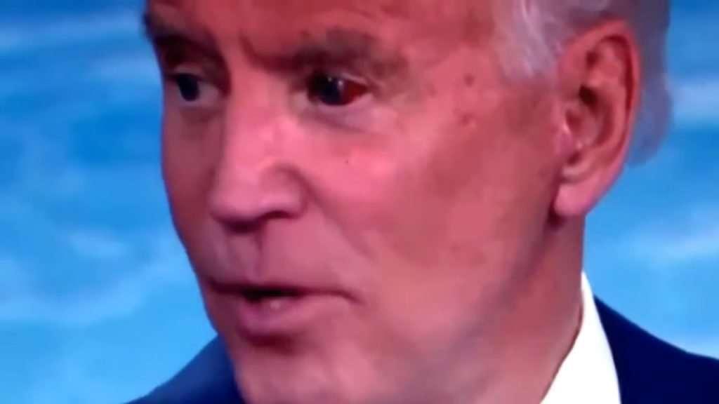 Joe Biden Red Eye